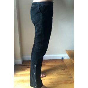 Versus by Versace Pants Vintage Suede Leather 26